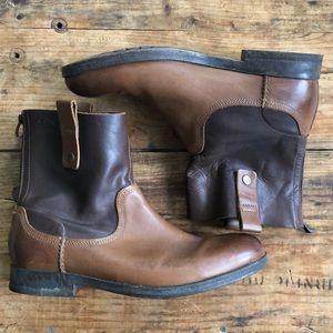 Clark's 11M Men's Brown Chelsea Boot Leather